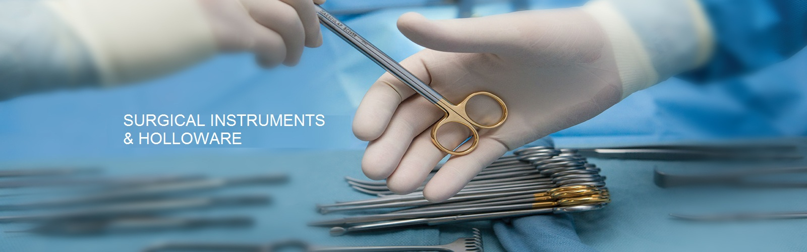 SURGICAL INSTRUMENTS & HOLLOWARE